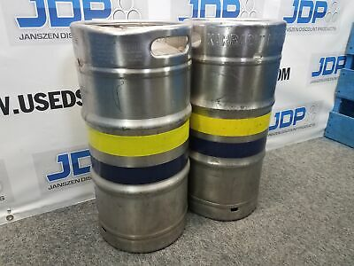 5.16 Gallon Stainless Steel Keg Used  quantity 1 sku B13