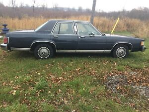 1987 Ford Mercury Grand Marquis