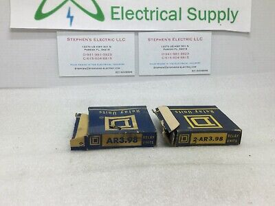 Square D Ar3.98 Overload Relay Thermal Unit
