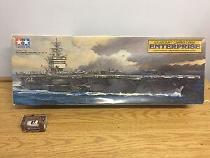 Model air craft carrier is 3 feet long when completed as new in