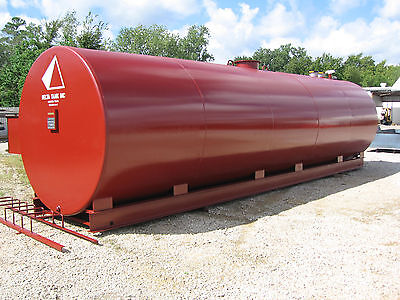10,000 Gallon UL 142 Aboveground Double Wall Fuel Storage Tank