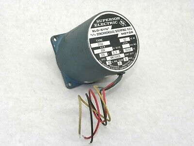Superior Electric Slo-syn Ts50 Stepper Motor Synchronous Stepping 120v Lv