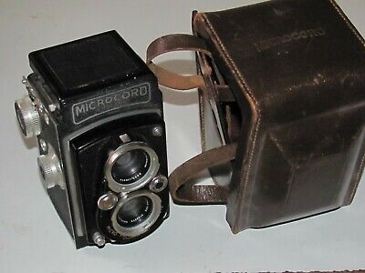 Microcord British 120 roll film Twin Lens Reflex TLR camera - Ross Xpress lenses
