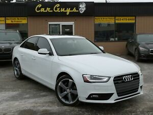 2014 Audi A4 2.0Komfort - S-LineAlloys, H.Leather,Roof,Quattro