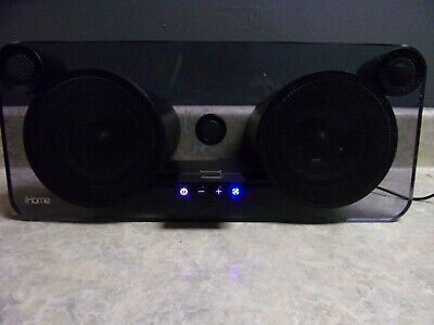 iHome Model iP1 Black Speaker Used Line In Component Video Out