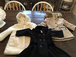Sz 2T Toddler Girls Fall/Winter Coats