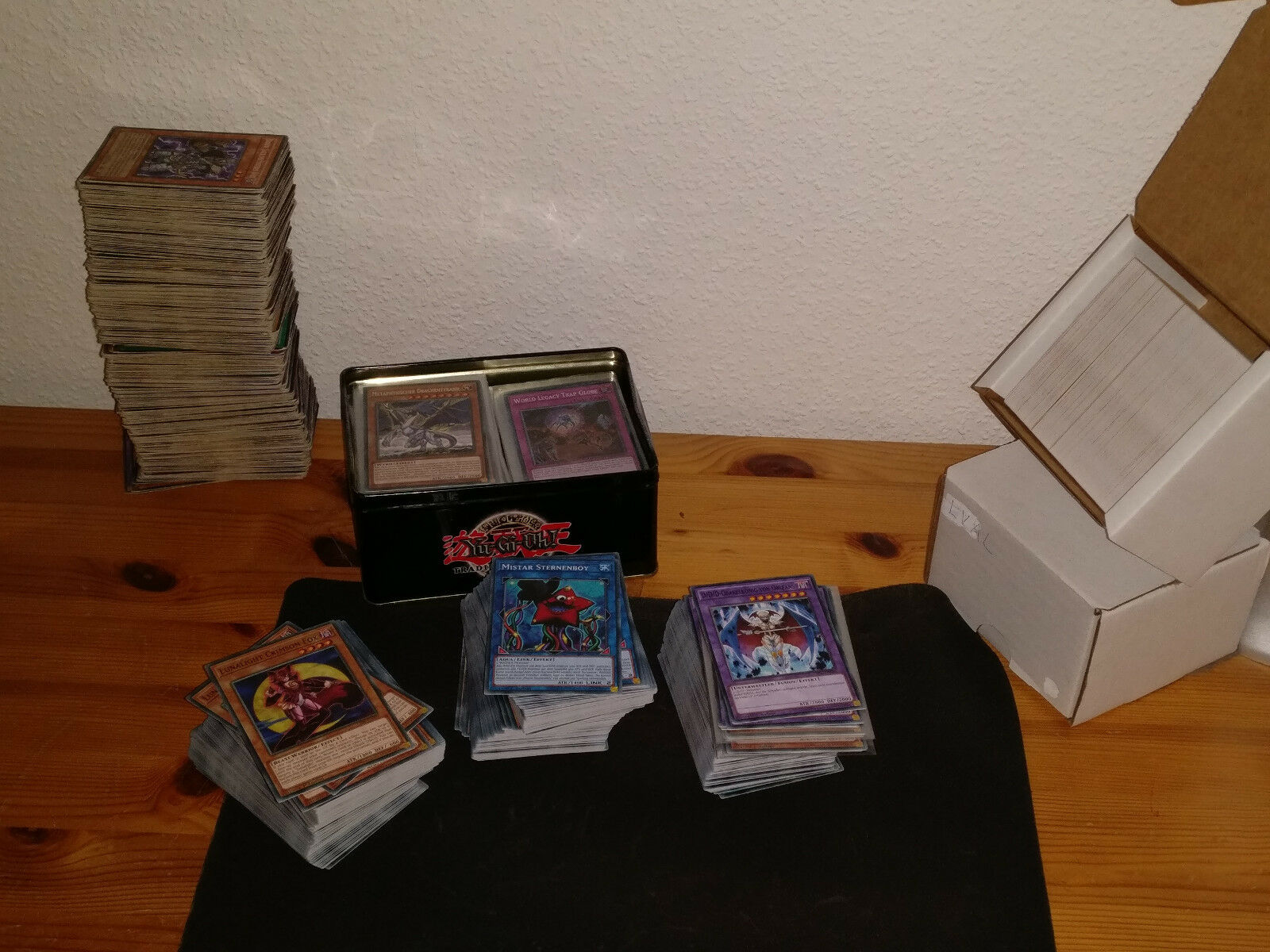 100 Yu Gi Oh Karten / Sammlung / Deck