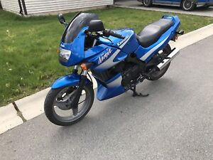2002 kawasaki ninja 500 trade for car