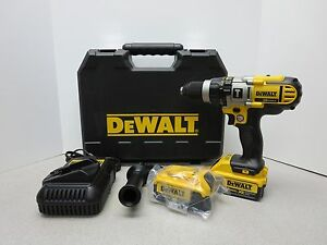 Dewalt DCD985M2 Hammerdrill 20v 3 Speed 0-575/0-1350/0-2000 RPM  Li-Ion