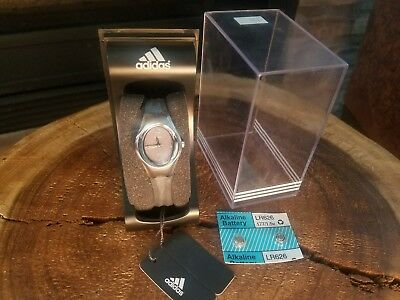 womens adidas sport watch with gray silicon band Adidas Womens Sports Bands