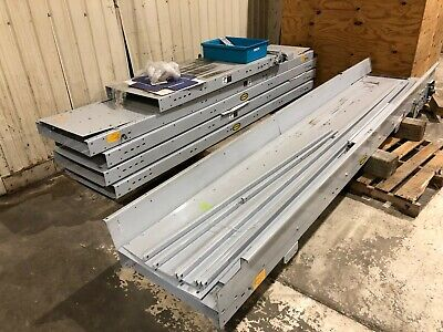 55 Hytrol Belt Conveyor System 24 Wide Package End Drive Package Conveyer