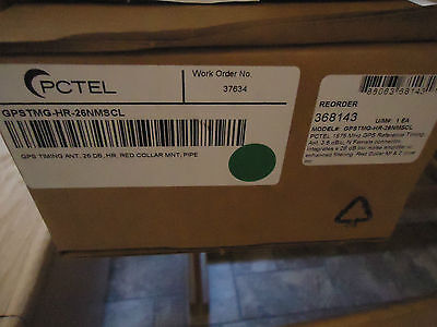 Pctel Gpstmg-hr-26nmscl 1575 Mhz Gps Timing Antenna New