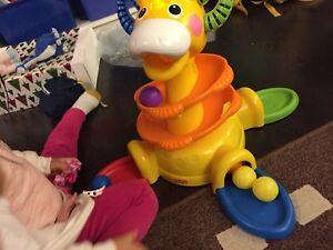 Fisher Price Go Baby Go Sit-To-Stand Giraffe