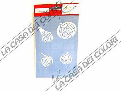 Easy Pumpkin Stencils (CALAMBOUR COLLEZIONE EASY - STENCIL A5 14,8x21cm - ZUCCHE -)