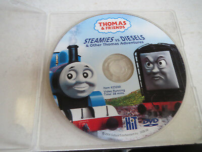 Thomas & Friends - STEAMIES VS. DIESELS & other Thomas Adventures (DVD-2004)