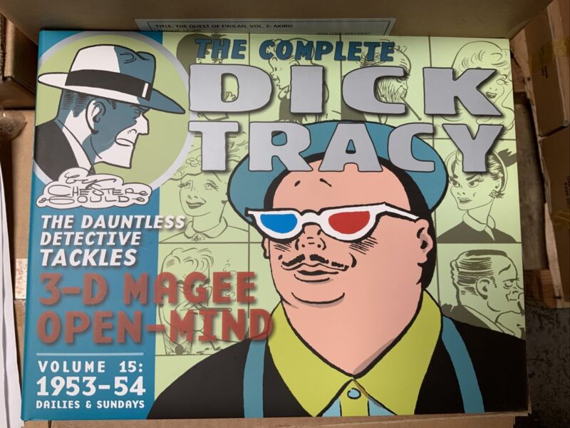 COMPLETE DICK TRACY DAILIES & SUNDAYS VOL 15: 1953 - 1954 : NEW HARDCOVER : LOAC
