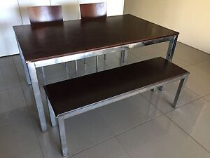 Freedom Dining Table , bench, 2 chairs and coffee table Woolloomooloo Inner Sydney Preview