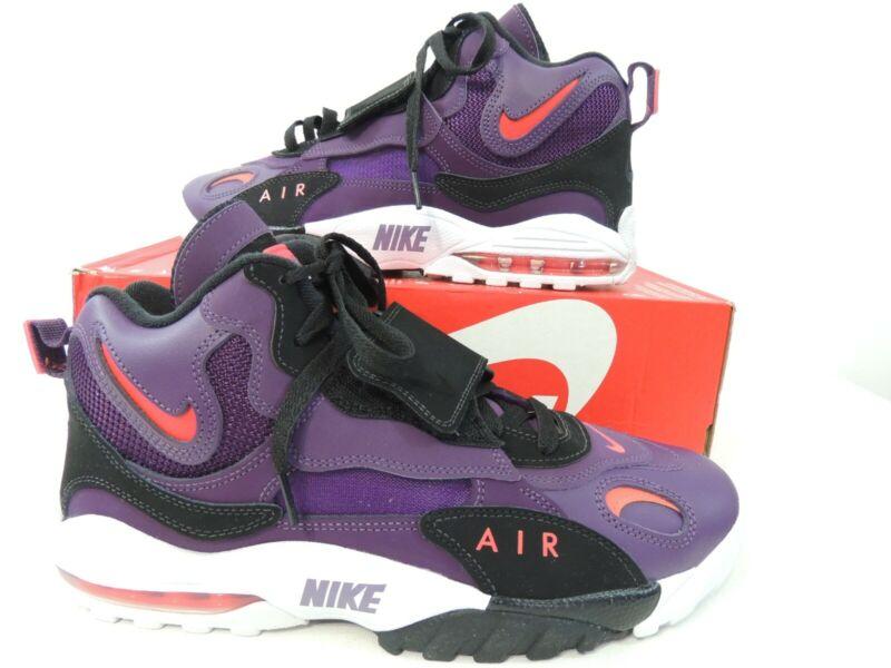 e4b41e96fae44 Nike Mens Air Max Speed Turf Night Purple Bright Crimson 525225-500 Size  10.5 | PolyBull.com