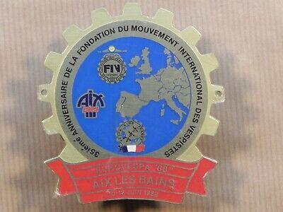 Vespa Badge EuroVespa 1988