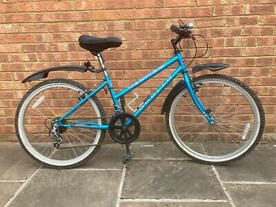 "Apollo Vertigo 2600 Girl's Bike Metallic Blue 24"" wheels, 14"" frame"