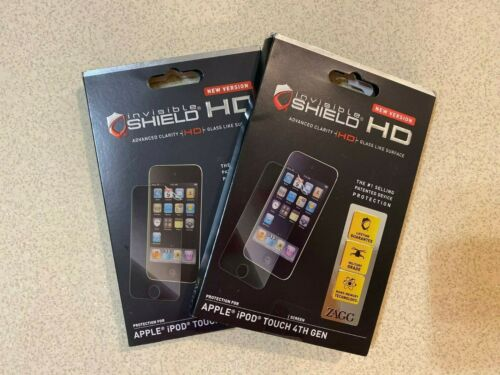 2PACK Zagg Invisible Shield HD Screen Protector for Apple iPod Touch 4th Gen