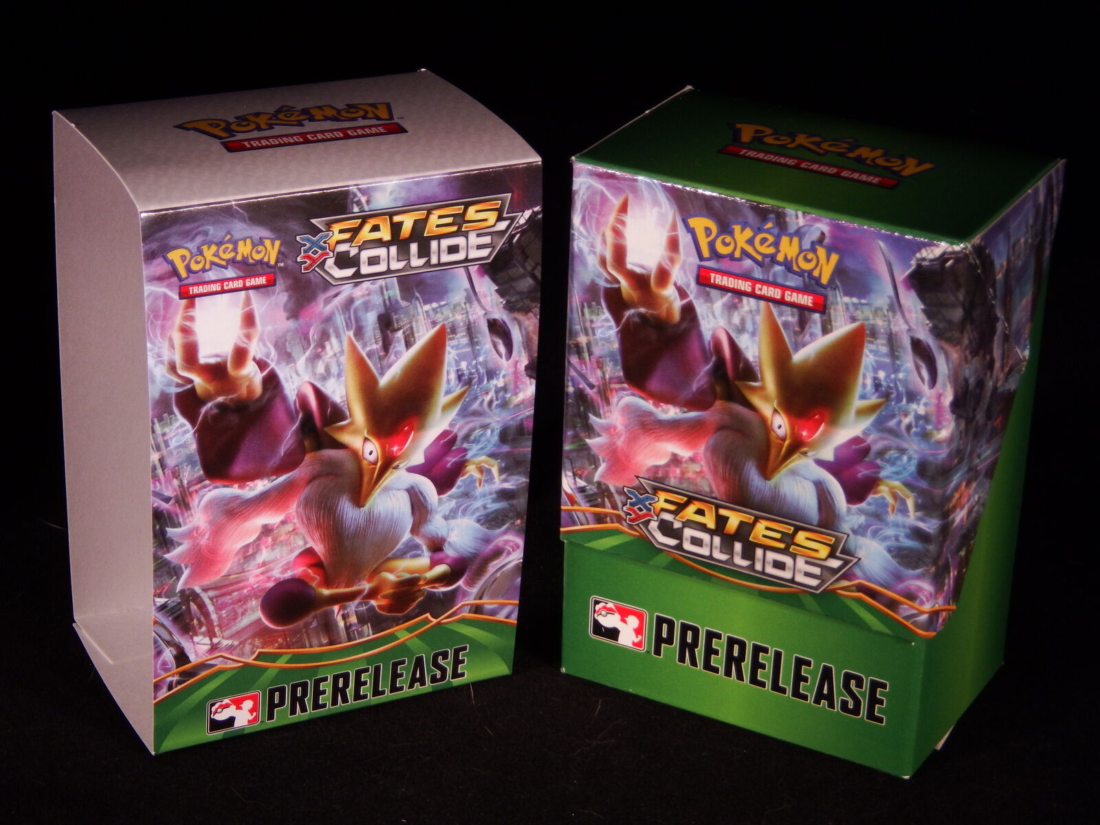 Pokémon Official Prerelease Deck Box: XY Fates Collide * EM