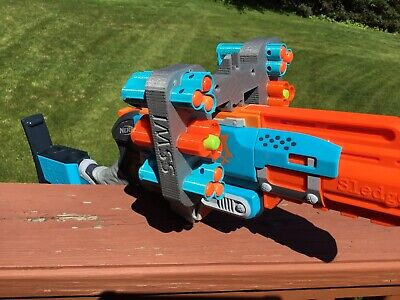 Nerf Compatible 6 Shell MOD Attachment for Zombie Strike Sledge Fire SledgeFire
