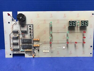 Thermco 140170-001 Operator Panel Pcb Assembly Used