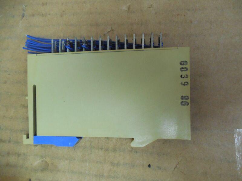 Siemens Simatic C1 Load Resistor Module 6EC1 600-3A 6EC16003A Used