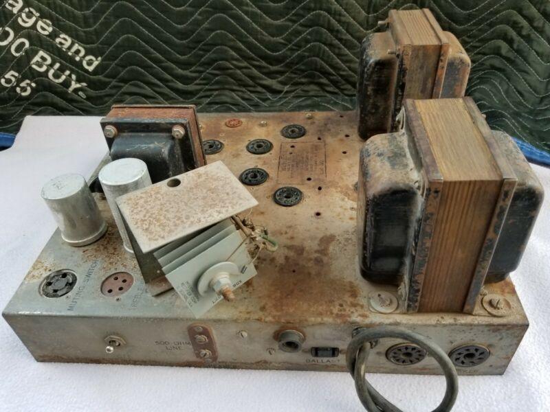 Wurlitzer 520 Jukebox Amplifier Parts or Repair
