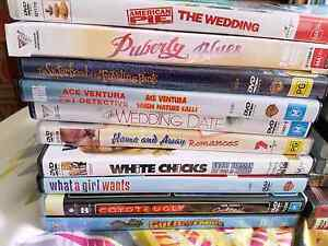 Bulk dvds movies tv series comedy romance Northgate Port Adelaide Area Preview