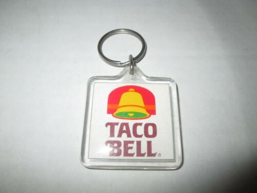 Vintage Taco Bell Keychain Neat