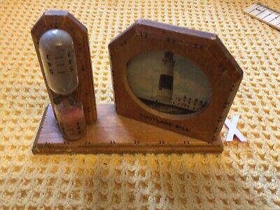 Vintage Portland bill lighthouse sand timer