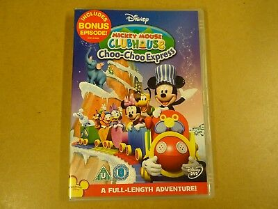 DVD / MICKEY MOUSE CLUBHOUSE - CHOO-CHOO EXPRESS ( DISNEY )