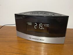 Sharper Image 20 Relaxing Sound Soother Digital Alarm Clock