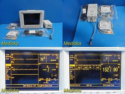 Datascope Passport Xg Patient Monitor W Adapter New Ecg Leadnbp Hose19626