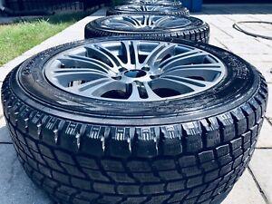 Jantes et pneus d'hiver pour BMW/Rims and winter tires BMW