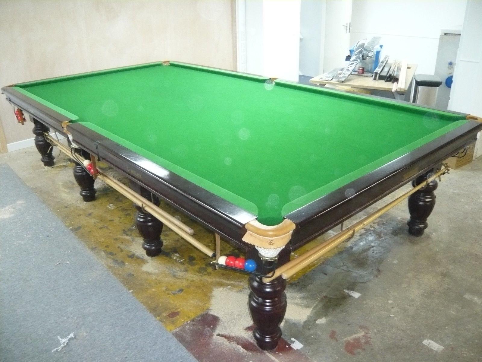 The1996 British Final Snooker Championship Table Nigel Bond Riley Stephen Hendry