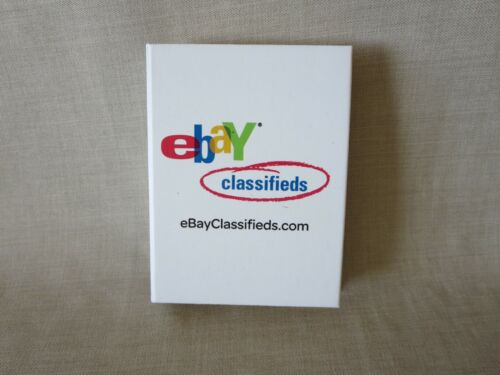 Rare eBay Classifieds Post-It Notes Pack Seller Ebayana Swag Live Brand New