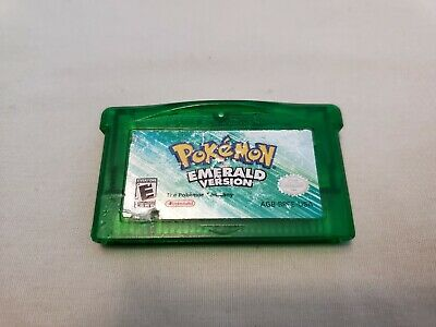 Pokemon Emerald Version Authentic Game Boy Advance