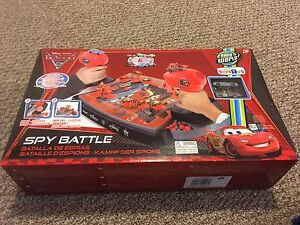 Cars 2 Spy Battle - New in Box exclusive to Toys r Us