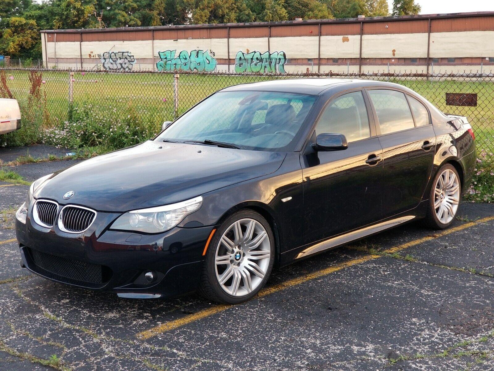 2008 BMW 5-Series 550i 2008 BMW 5-Series E60 550i V8 4.8L Auto Sport - M Wheels, Lane Departure, Nav,