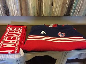 Bayern Munchen Sweatshirt and Scarf