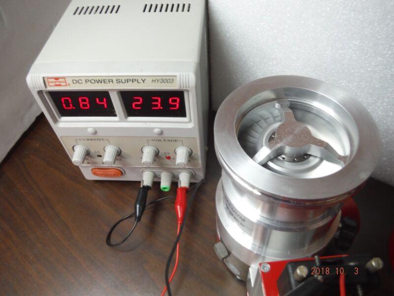 Pfeiffer Turbomolecular Pump TMH 071 P + TC100 Controller in Excellent Condition