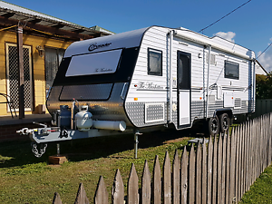 2012 Manhattan Crusader Luxury Caravan with plenty of extras!!!! Warilla Shellharbour Area Preview