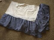 Pottery Barn Kids Twin Bed Skirt