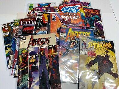 25 Marvel Comic Books. Marvel ONLY! No Duplicates! Avengers X-Men Deadpool