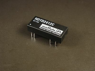 Ndtd2412c Murata Isolated 3w Input Dual Output Dcdc Converter 24v Nos