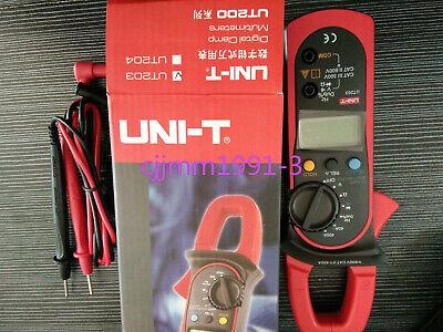 1pc New New Unit Uni-t Ut203 Digital Clamp Meter Multime