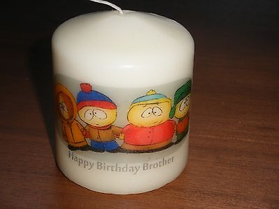 Candle Picture South Park Can Be Personalised Birthday Memorial Friend Love New